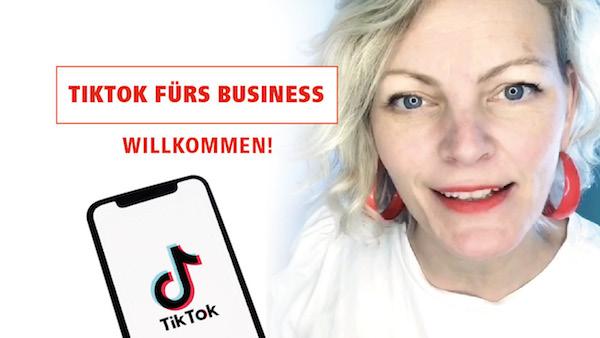 TikTok fürs Business / TikTok für Selbstständige 🔥 Willkommen auf dem Youtubekanal